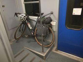 Radtransport in italienischen Zügen...