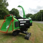 Greenmech Quadtrak 160 - 30 degree slope