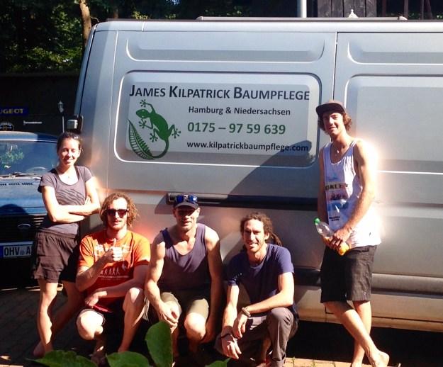 Internationales Baumpflegeteam Kilpatrick Hamburg