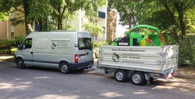 Kilpatrick Baumpflege Fuhrpark