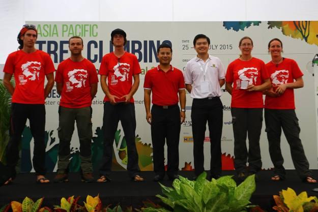 Podium APTCC 2015