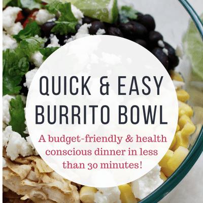 Running on Burrito Bowls