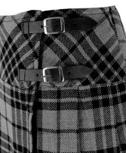 Billie Granite Gray Tartan, Tartan, Scottish Kilts