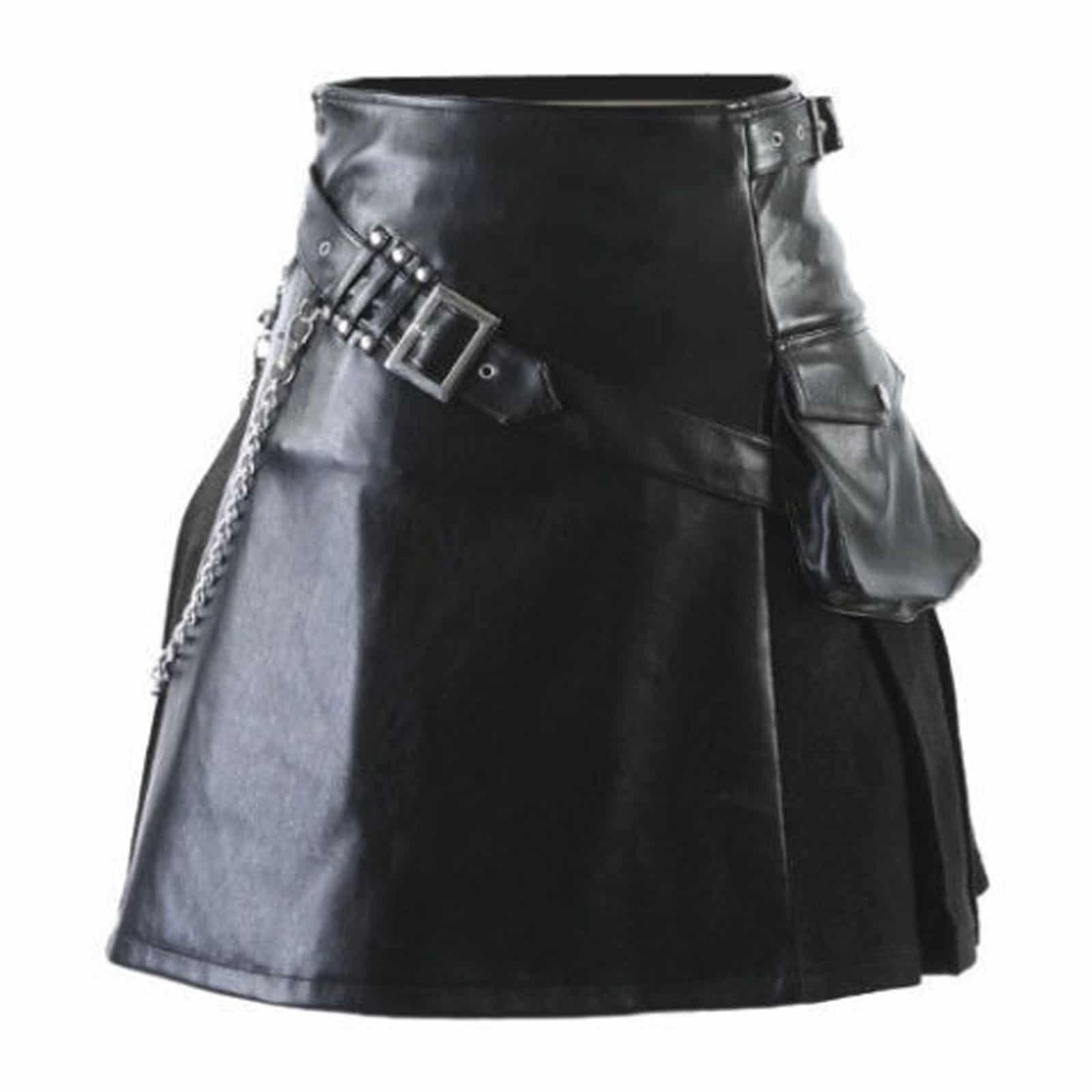 Stylish Cargo pocket kilt for mens and women sale price ExX8006tYJ