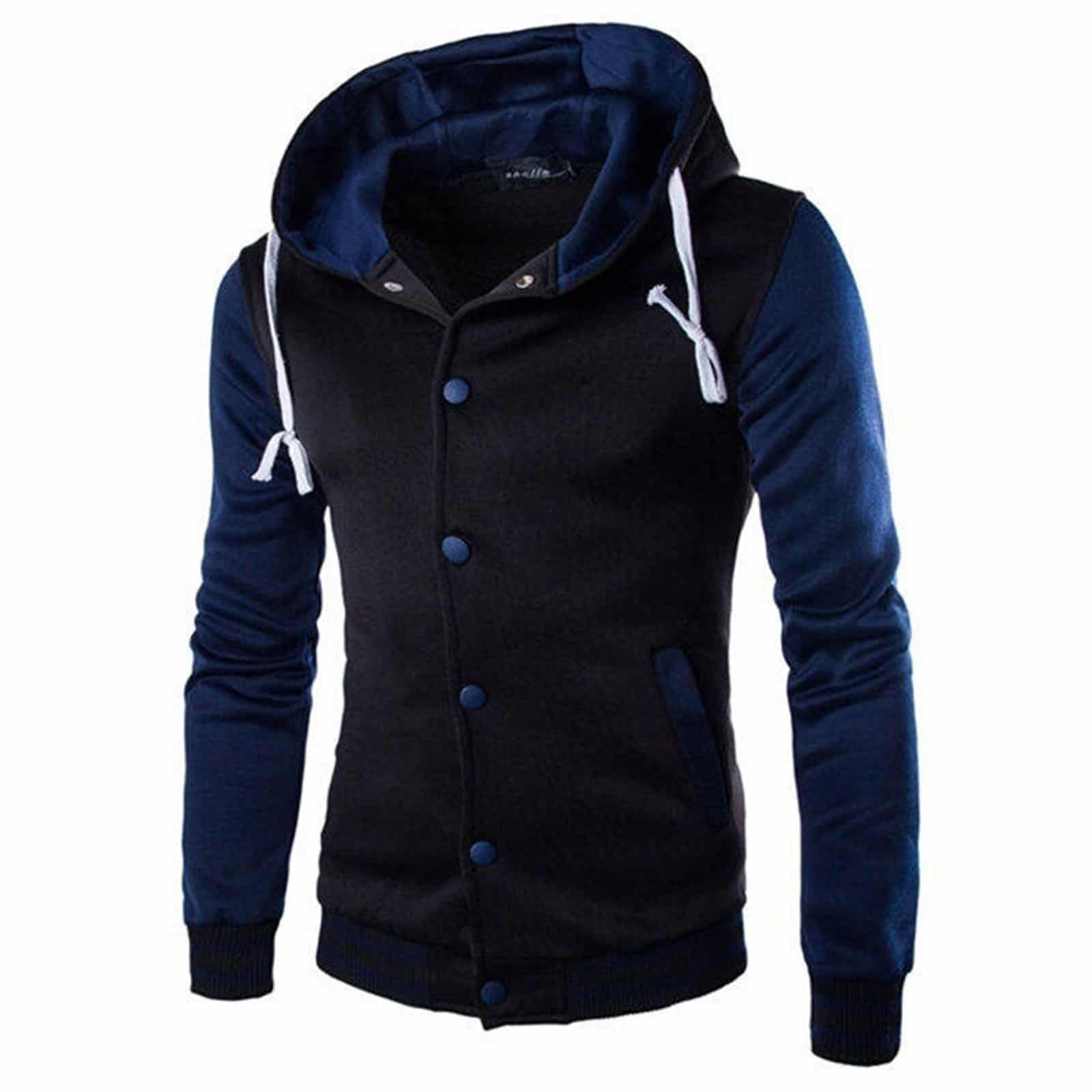 Completely new Hooded Letterman Varsity Style Jacket | Made to Order - Kilt and Jacks GK56