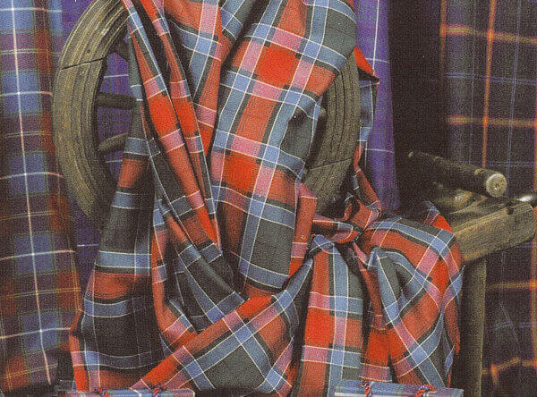 Tartan Throw or Blanket Light Weight Wool
