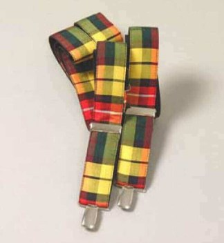 Spring Weight Tartan Suspenders