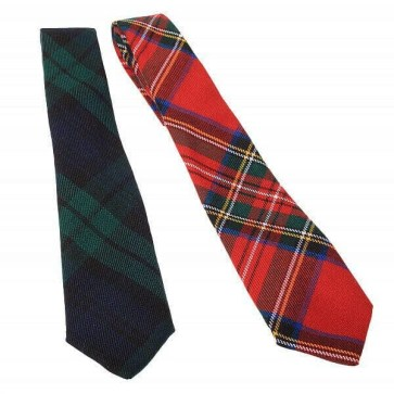 Child Size Tartan Ties