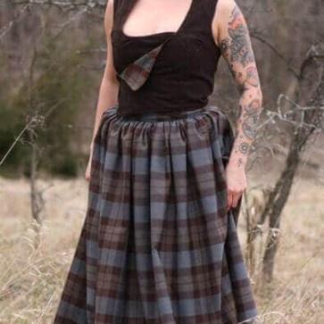 Gathered Skirts