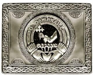 Irish Family Crest Kilt Belt Buckle