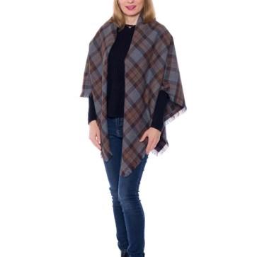 OUTLANDER Shawl Authentic Premium Wool Tartan