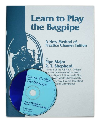 Economy Learn to Play Bagpipe Book and CD