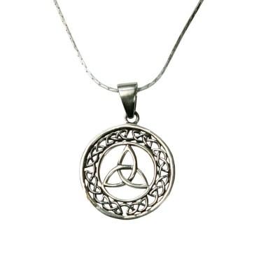 Celtic Triskle Necklace