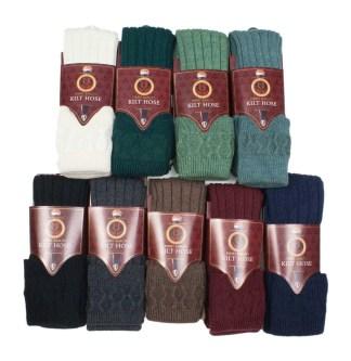 Quality Wool Blend Kilt Hose
