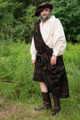 Homespun Great Kilt