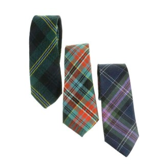 Tartan Neck Ties, Light Weight