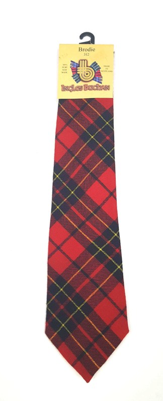 Brodie Modern Tartan Tie