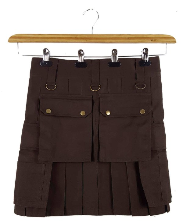 Dark Brown Wilderness Kilt 32W 19L