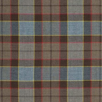 OUTLANDER Authentic Premium Wool Fraser Tartan Fabric