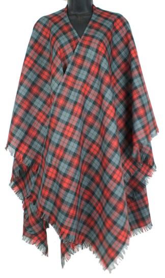 Tartan Serape, Spring Weight Premium Wool (Tartan list J)