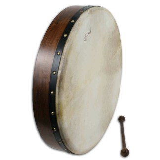 Rosewood Frame Tacked 18 inch Bodhran