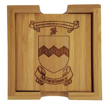 Morrissey Coat Of Arms Coasters
