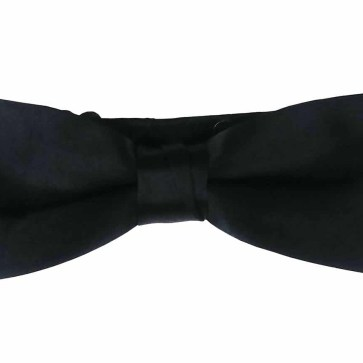 Solid Color Wool Bow Ties