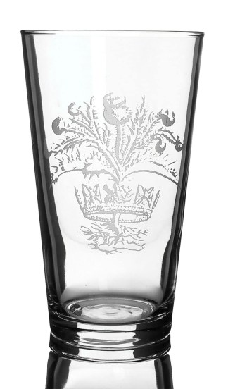 CCT28-CL-1750 - Crown and Thistle Pub Glass