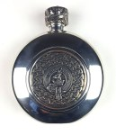 Keith Clan Crest Flask