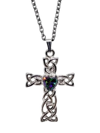 Mystic Celtic Cross Necklace