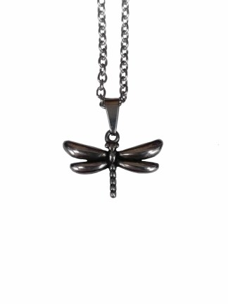 Stainless Steel Dragonfly Necklace