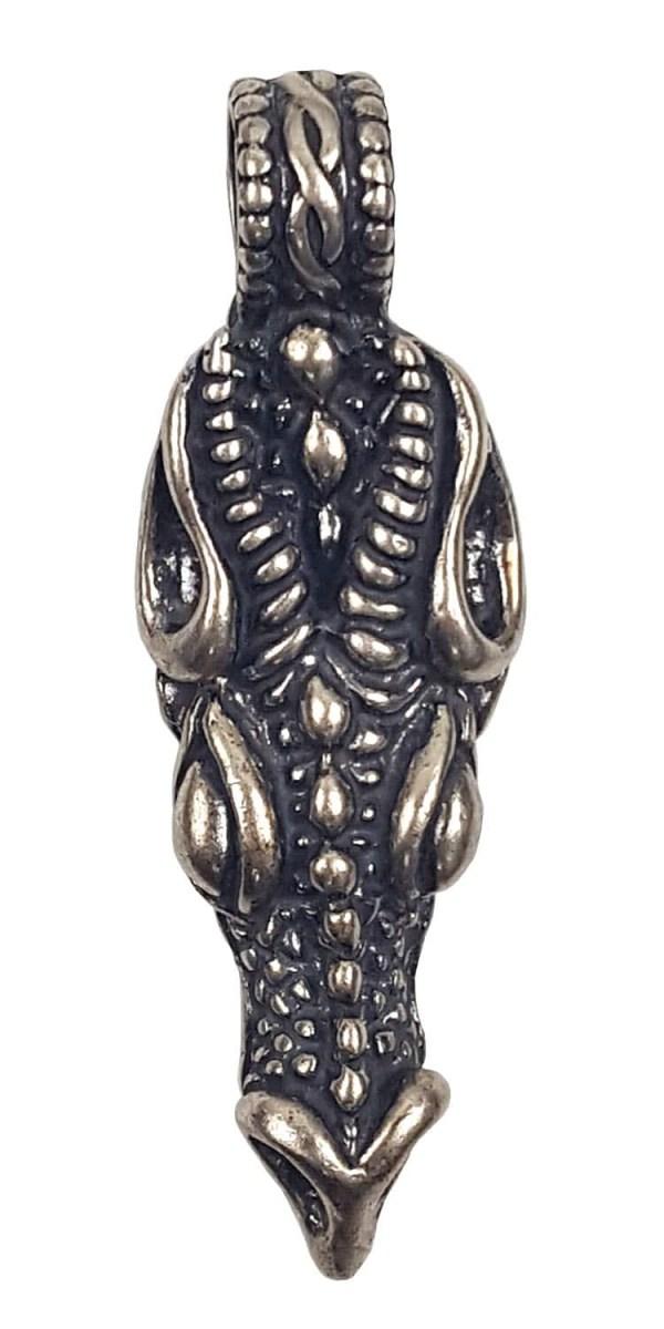Silver Dragon Head Pendant