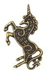 Bronze Celtic Unicorn