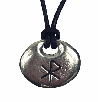 Love Bind Rune Pewter Pendant