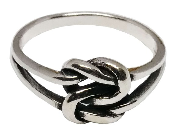 Entwined Love Knot Ring