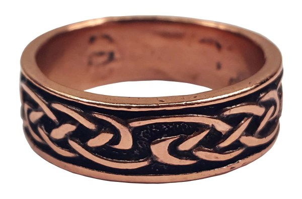 Copper Celtic Knot Ring