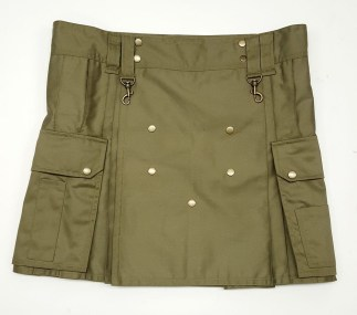 Khaki Wilderness Kilt