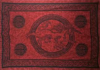 Red Unicorn Celtic Sarong
