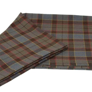 OUTLANDER Poly/Viscose Fraser Tartan Fabric