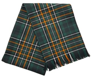 Irish National Premium Wool Tartan Scarf