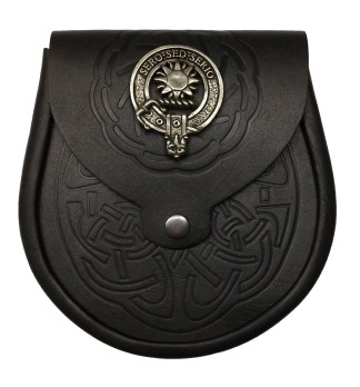 Clan Crest Buckles and Sporrans