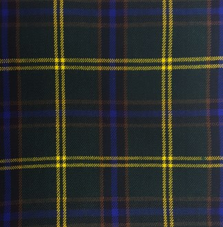 US Army Homespun Tartan Swatch
