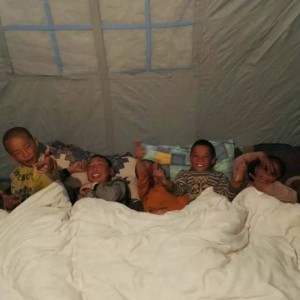 image8 students in new tent2