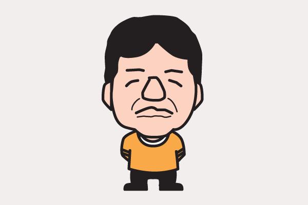 村上ショージの似顔絵画像