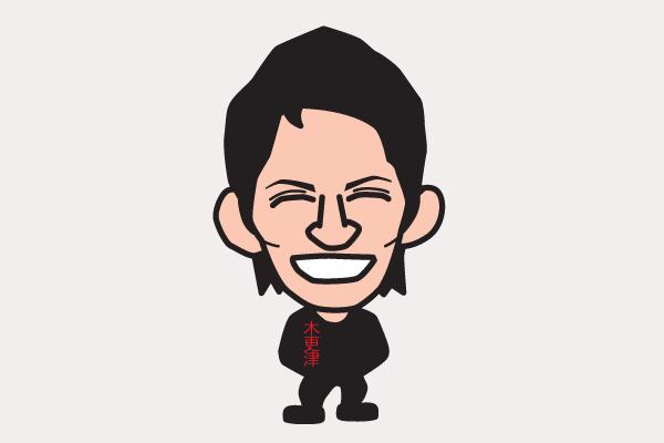 岡田准一の似顔絵画像