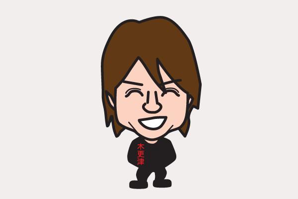 櫻井翔の似顔絵画像