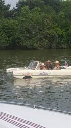 The Girls in the Amphicar