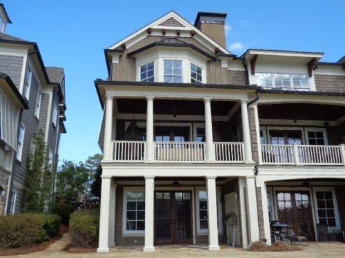 lake oconee 3 story townhome