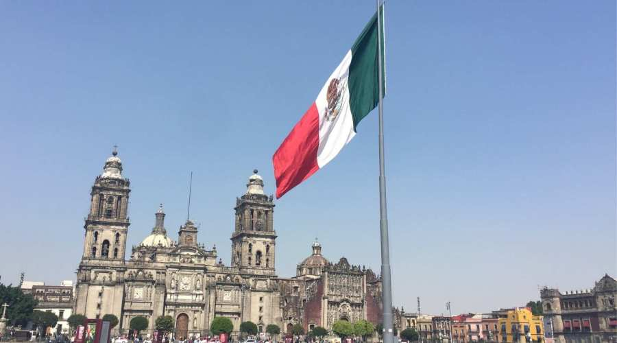 The Zocalo, Mexico City, Mexico