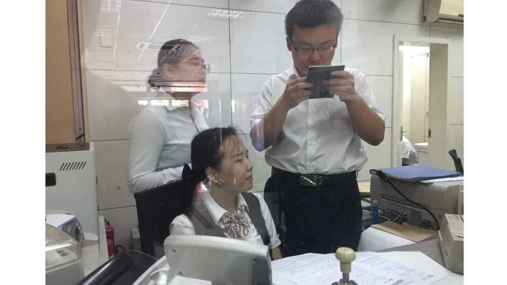 Opening a bank account in Jinan, China